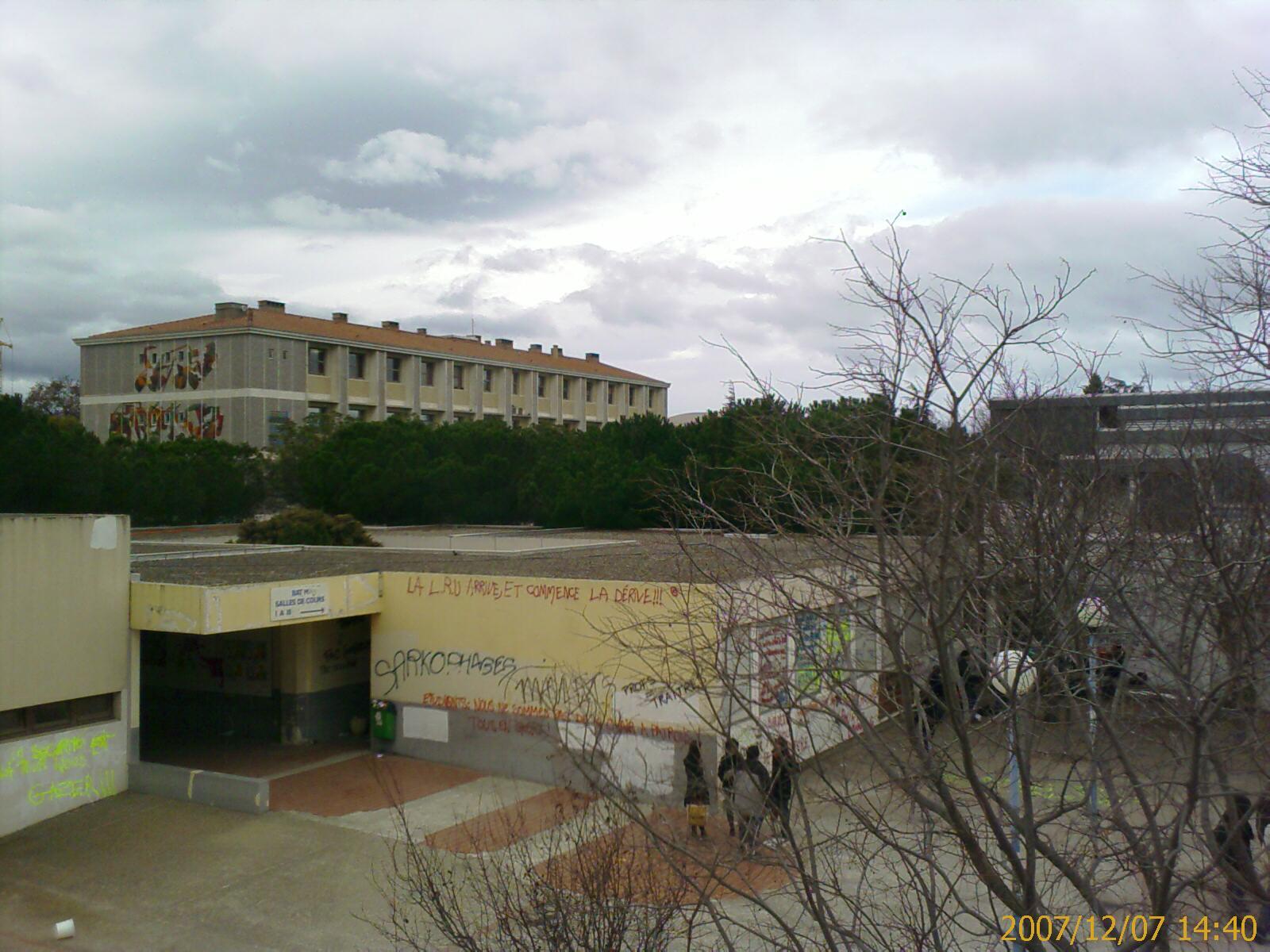 Salle M Université de Perpignan