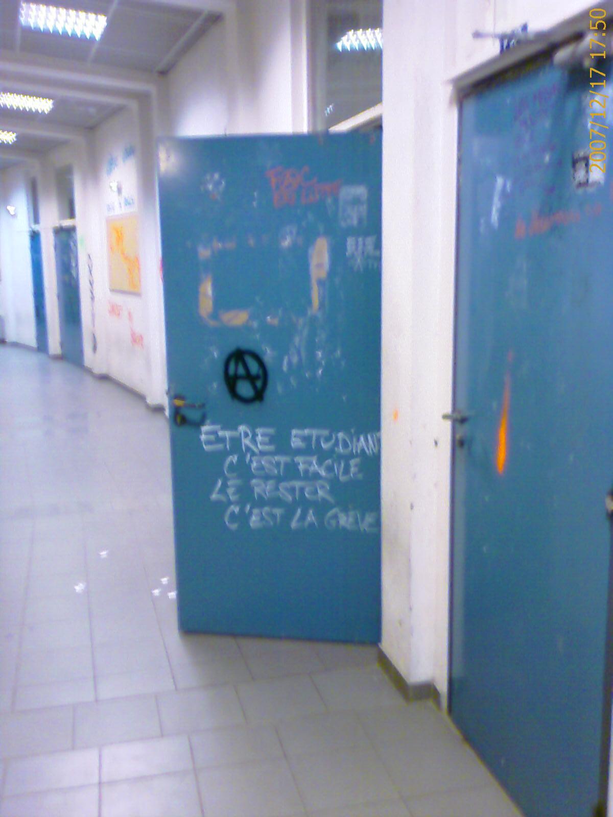 Porte Université de Perpignan