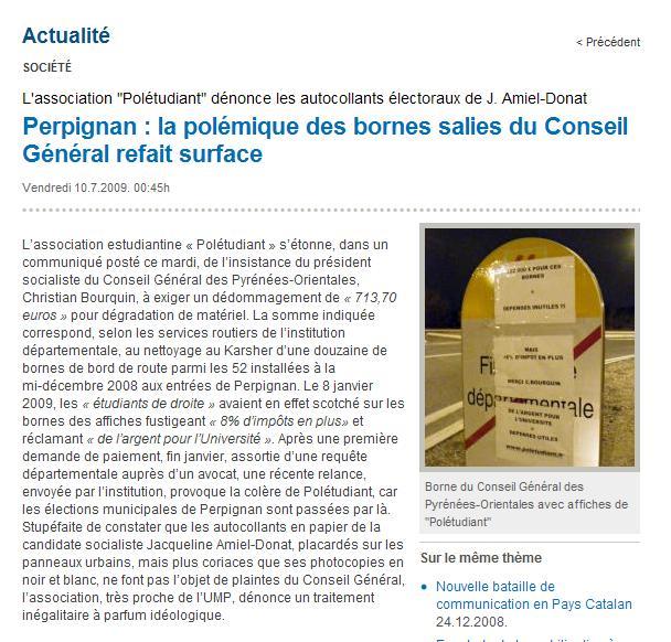 La Clau - Poletudiant - Bornes de Bourquin